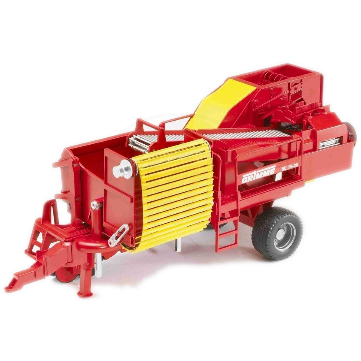 BRUDER 02130 - Kombajn na brambory GRIMME SE 75