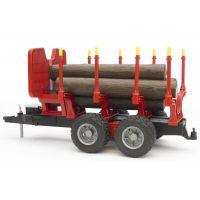 Bruder 02251 Přepravník na dřevo