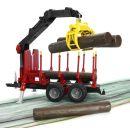 Bruder 02252 Přepravník na dřevo s rukou 3