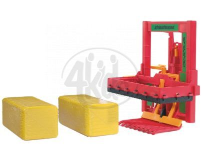 BRUDER 02242 - Sběrač na balíky