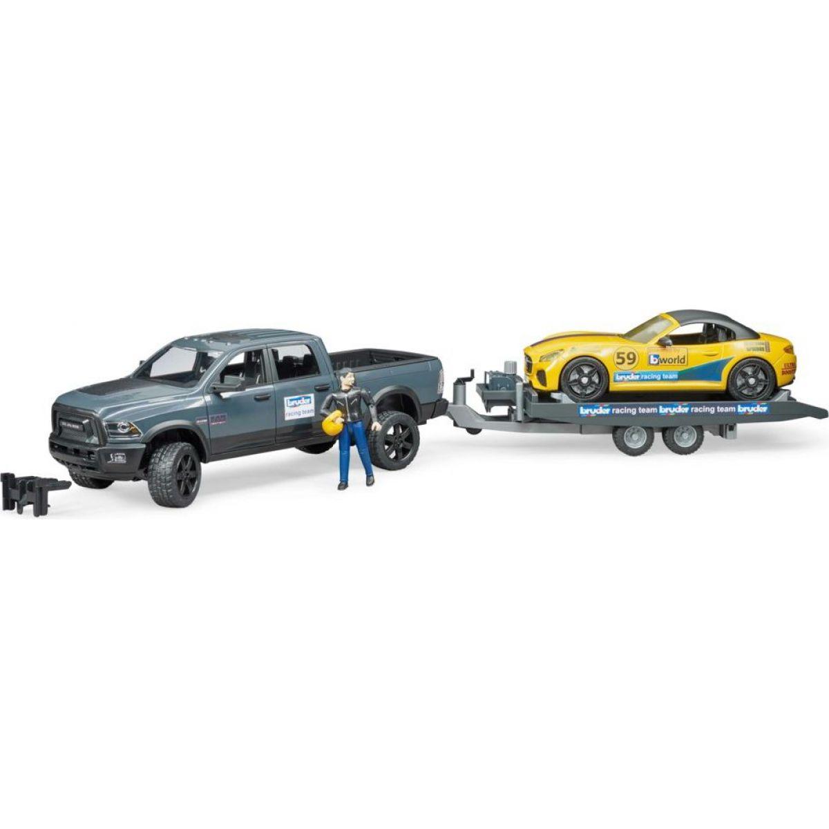 Bruder 02504 RAM Roadster Racing Team