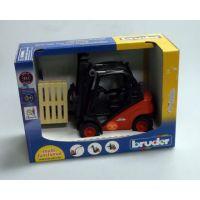 BRUDER 02511 - Vysokozdvižný vozík Linde 5