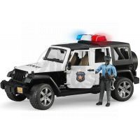 Bruder 02527 Policejní Jeep Wrangler s figurkou