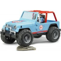 Bruder 02541 Jeep Cross Country modrý s figurkou 3