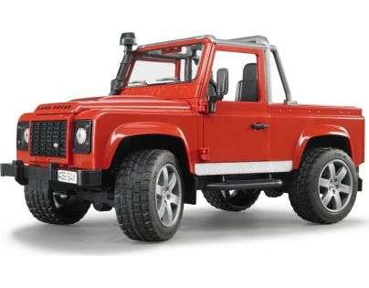 Bruder 02591 Land Rover Pick Up červený