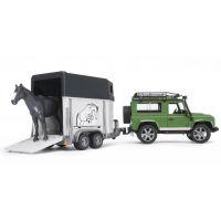 Bruder 02592 Land Rover a přepravník na koně 2
