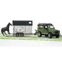 Bruder 02592 Land Rover a přepravník na koně 3