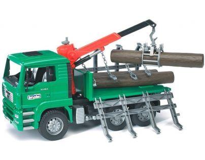 BRUDER 02769 - MAN nákladní auto na svoz dřeva
