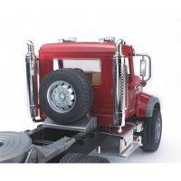 Bruder 02813 Nákladní auto Mack Granit návěs a traktor JCB 3