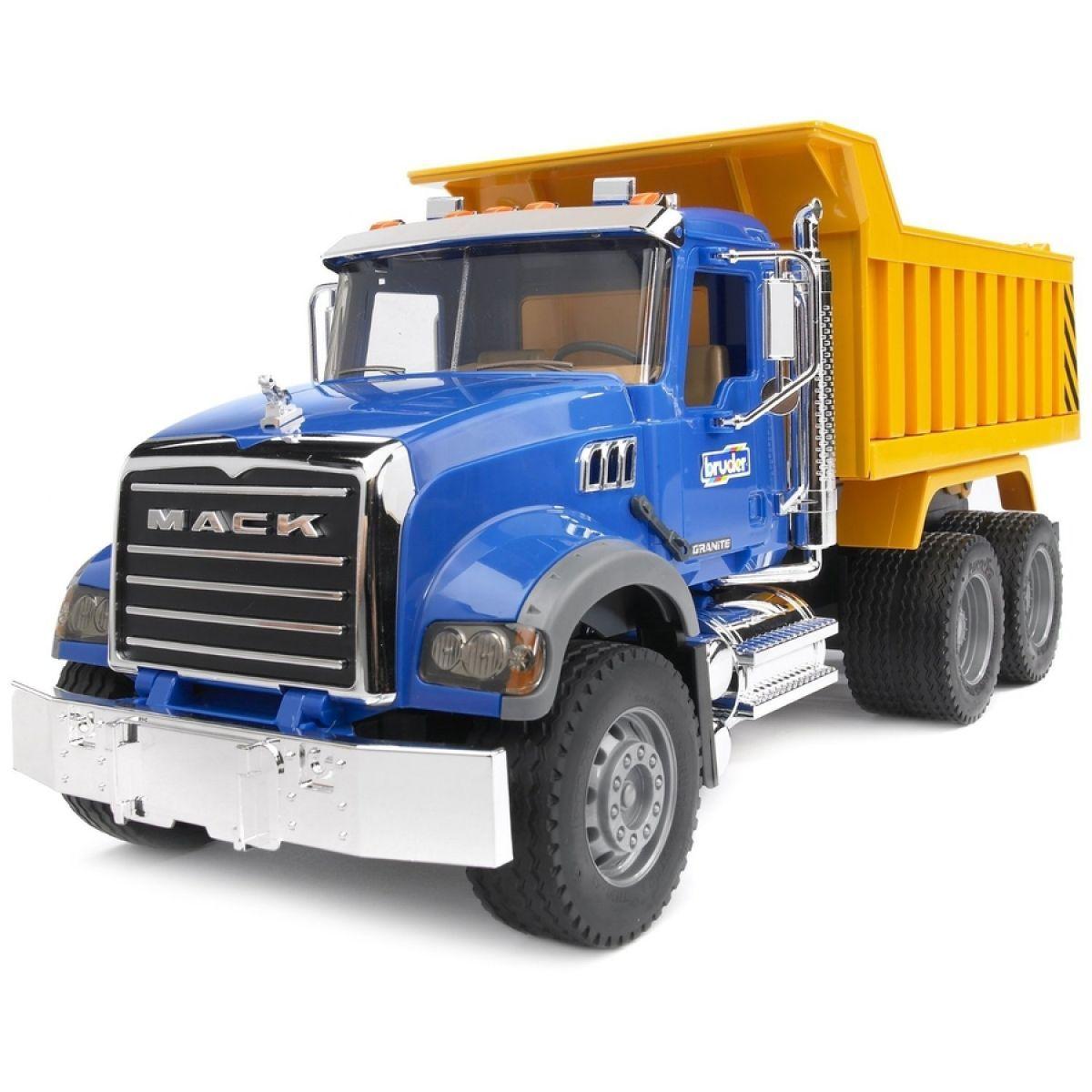 Bruder 02815 Nákladní auto Mack Granit sklápěč