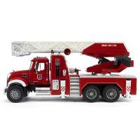 Bruder 02821 Nákladní auto Mack Granit Požární žebřík hasiči 2
