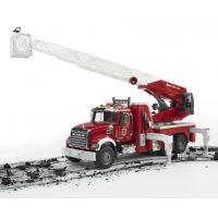 Bruder 02821 Nákladní auto Mack Granit Požární žebřík hasiči 4
