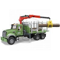 BRUDER 02824 - MACK Granit na přepravu dřeva