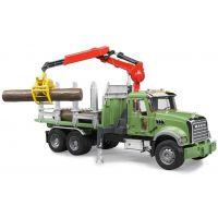 Bruder 02824 Auto Mack Granit Přepravník dřeva 2