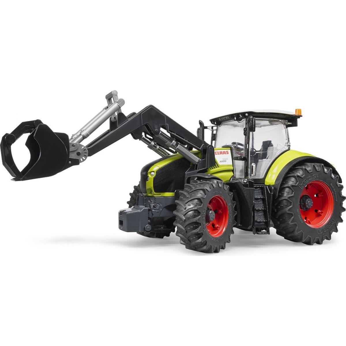 Bruder 03013 Traktor Claas Axion 950 s přední lžicí
