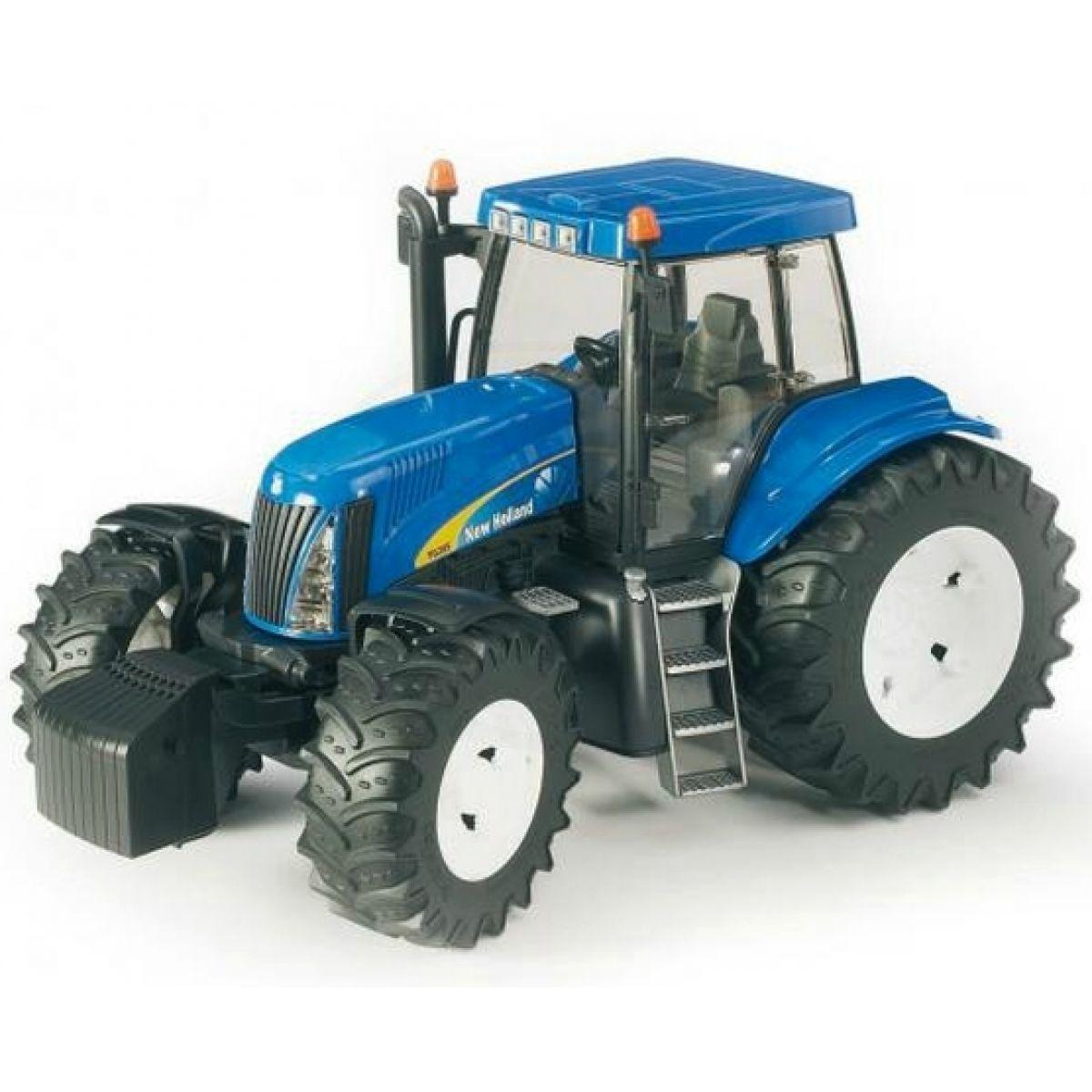 bruder 03020 traktor new holland tg285 4kids. Black Bedroom Furniture Sets. Home Design Ideas