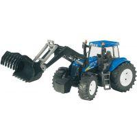 Bruder 03021 Traktor New Holland TG285 se lžící