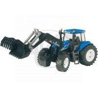 BRUDER 03021 - Traktor New Holland TG285 se lžící