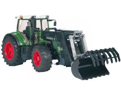 BRUDER 03041 - Traktor Fend 936 Vario + čelní nakladač