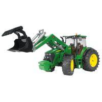 Bruder 03051 Traktor John Deere 7930 s čelním nakladačem