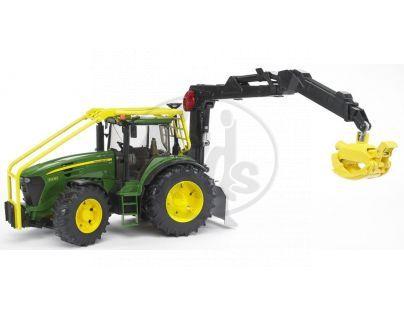 BRUDER 03053 - Lesní traktor JOHN DEERE