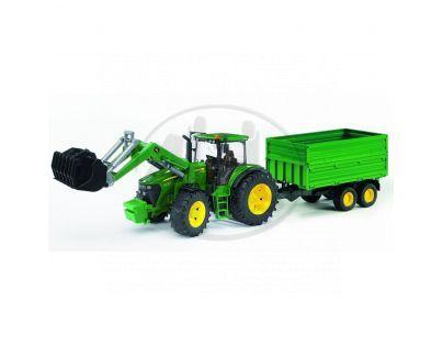 Bruder 03055 Traktor John Deere 7930 + vůz