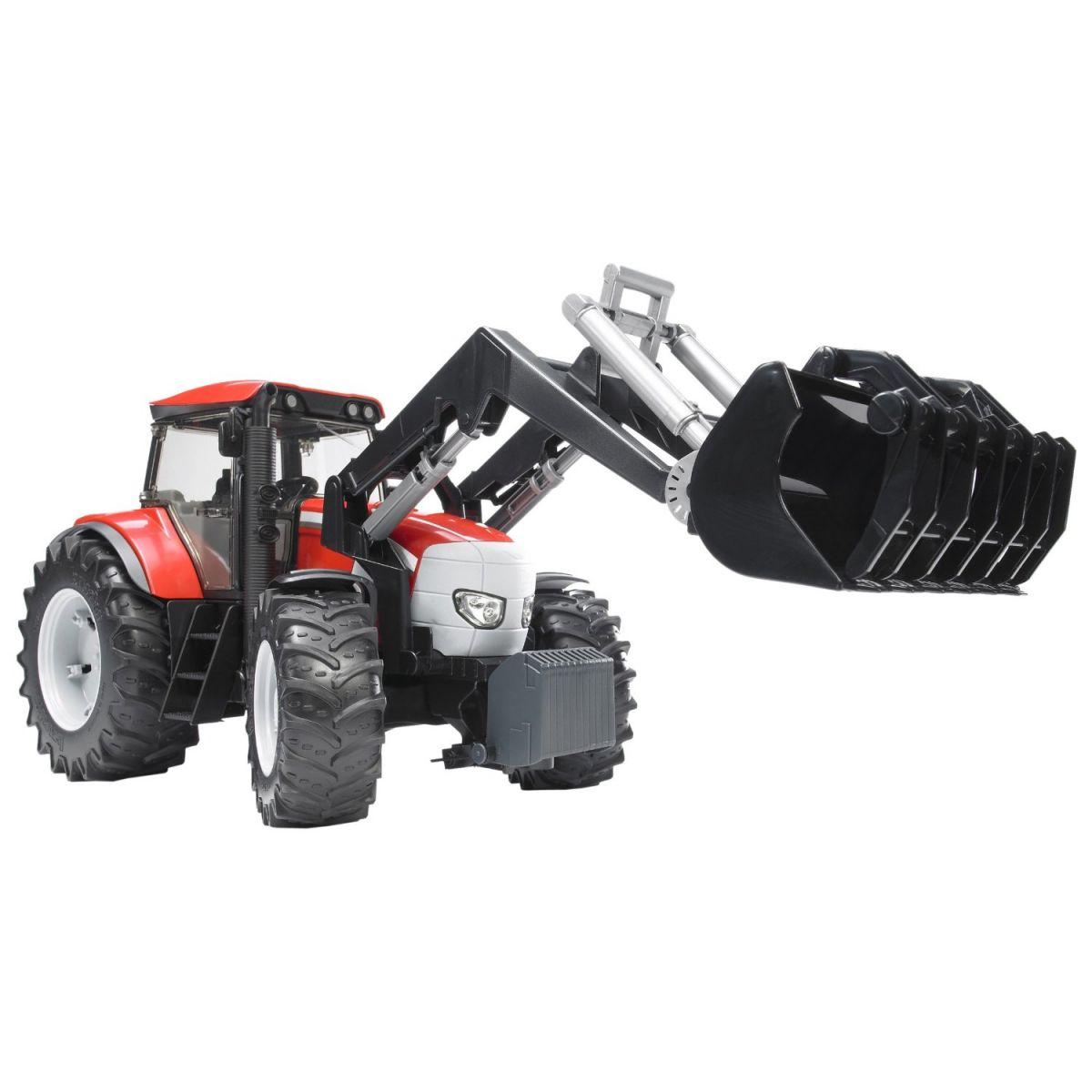 Bruder 03061 Traktor Mc Cormick a čelní nakladač