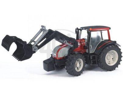 BRUDER 03071 - Traktor Valtra T191 + čelní nakladač