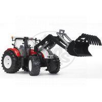 BRUDER 03091 - Traktor STEYR CVT 6230 + čelní nakladač