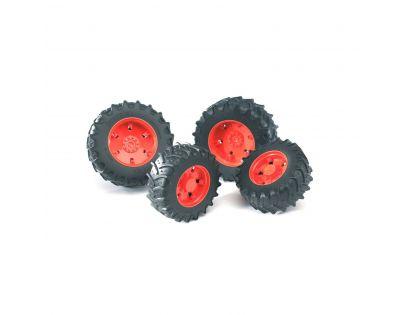 BRUDER 03302 - Náhradní kola 3000 červené
