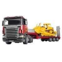 Bruder 03555 Scania Návěs s buldozerem