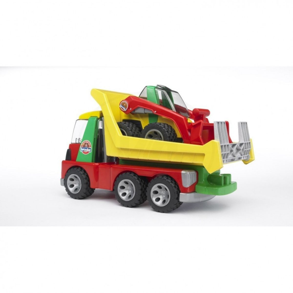 Bruder Auto nákladní s nakladačem