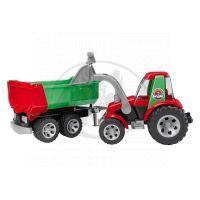 Bruder 20116 Traktor s přívěsem a lžící