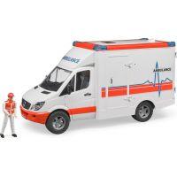 Bruder 2536 Mercedes Sprinter sanitka s řidičem - Poškozený obal