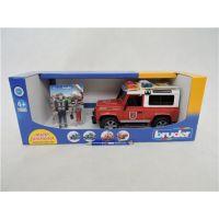 Bruder 2596 Land Rover Defender Hasičské auto s figúrkou hasičov 6
