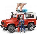 Bruder 2596 Land Rover Defender Hasičské zásahové s figurkou hasiče 5