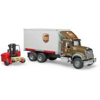 Bruder 2828 Mack Granite UPS logistik a vysokozdvihem 3