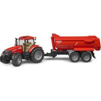 Bruder 3099 Traktor Case IH PUMA 230CVX s přívěsem