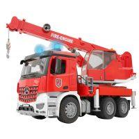 Bruder 3675 Mercedes Benz hasičský autojeřáb