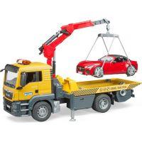 Bruder 3750 MAN TGS odtahová služba + roadster - Poškozený obal 5