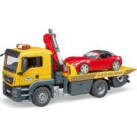 Bruder 3750 MAN TGS odtahová služba a roadster