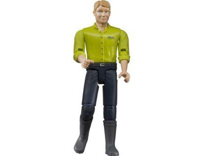 Bruder 60005 Bworld Figurka Muž tmavě modré kalhoty