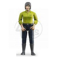 Bruder 60405 Bworld Figurka žena tmavé kalhoty