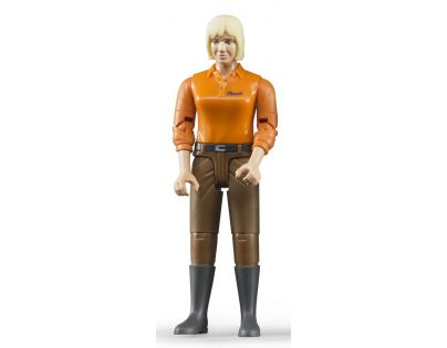 Bruder 60407 Bworld Figurka žena hnědé kalhoty