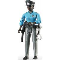 Bruder 60431 Bworld Figurka Policistka tmavé pleti