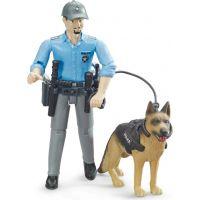 Bruder 62150 Policajt so psom