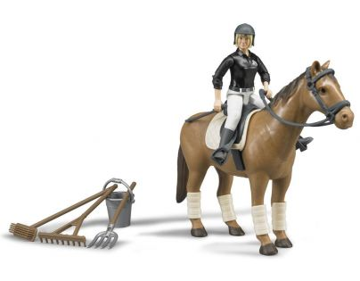 BRUDER 62505 - Jezdecký set