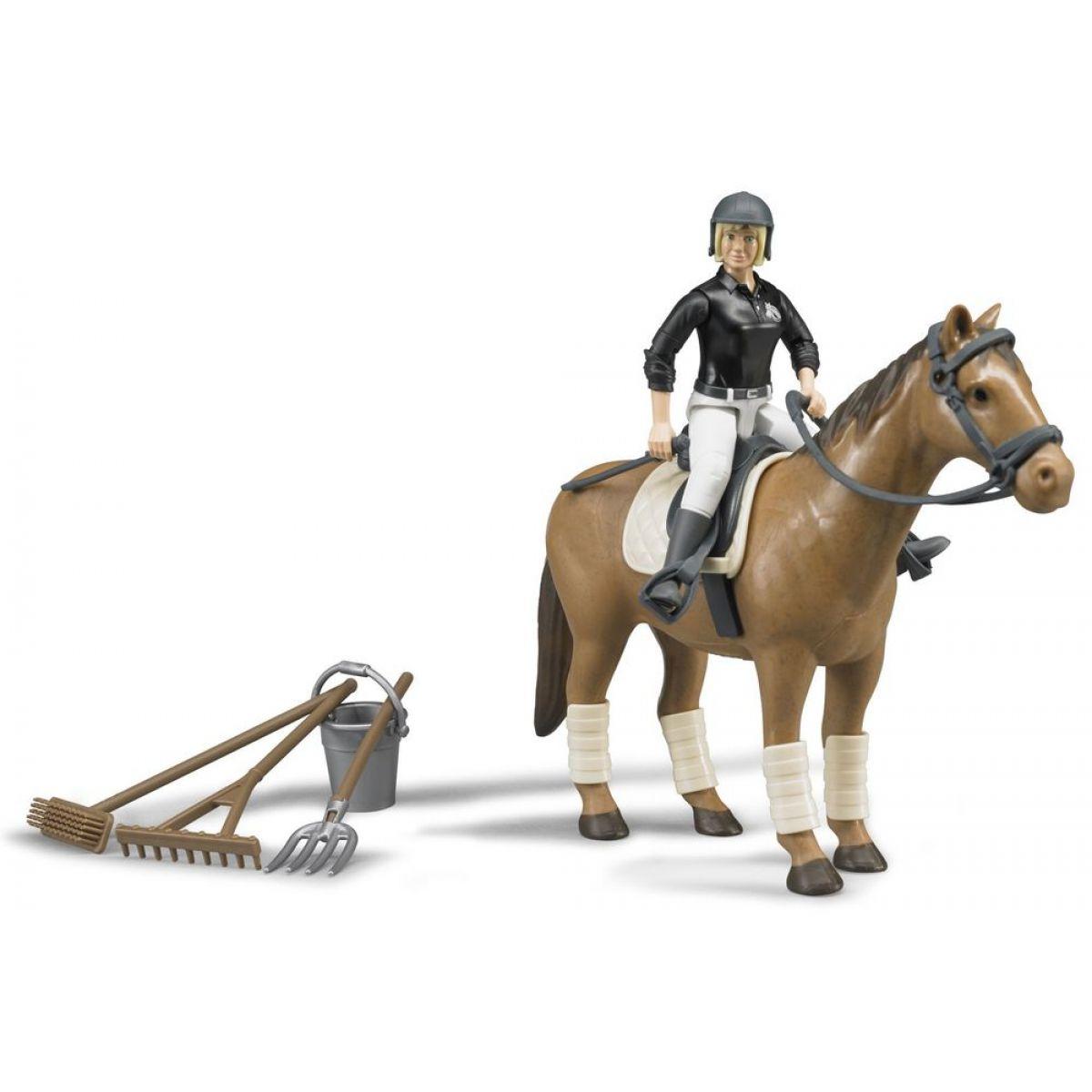 Bruder 62505 Jezdkyně s koněm a příslušenstvím