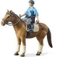 Bruder Kůň s policistou