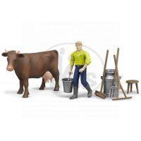 BRUDER 62605 - Zemědělský set